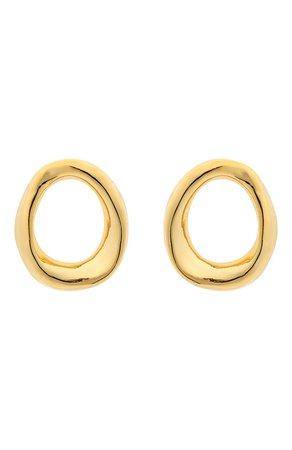 Женские золотые серьги MARNI — купить за 38250 руб. в интернет-магазине ЦУМ, арт. 0RMV0244A0/M2000