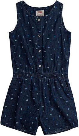 Amazon.com: Levi's Girls' Romper: Clothing