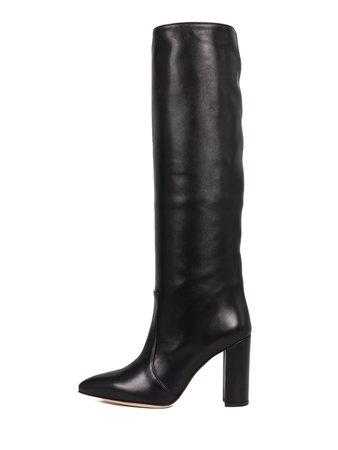 Paris Texas Knee Boots Black