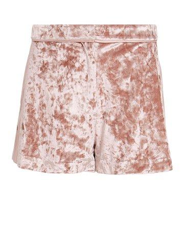 Kelis Velvet Shorts
