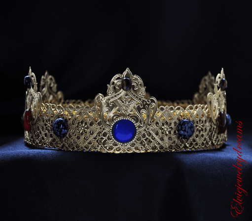 FABIO - Man costume Medieval Crown - olenagrin