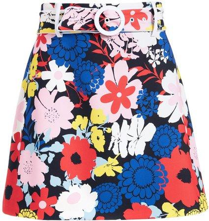Freya Floral Mini Skirt