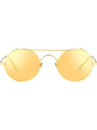 Linda Farrow 427 C1 Browline Sunglasses - Farfetch