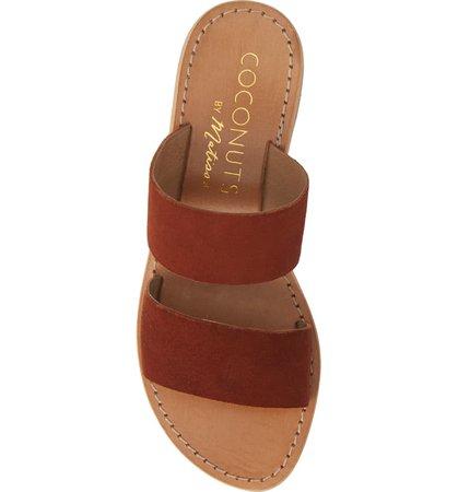 Coconuts by Matisse Limelight Slide Sandal (Women) Brown