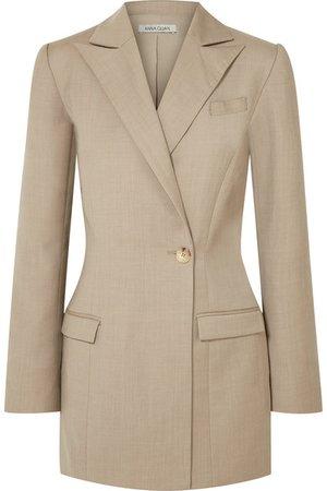 ANNA QUAN | Sienna wool and cashmere-blend blazer | NET-A-PORTER.COM