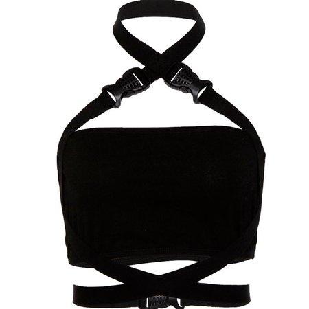 Punk black vest KF9476 – unzzy