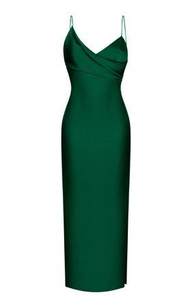 Satin Slip Midi Dress By Rasario | Moda Operandi