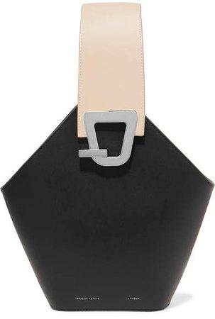 Danse Johnny Leather Bucket Bag - Black