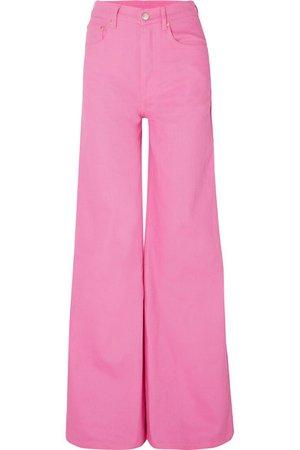Solace London | Nora high-rise wide-leg jeans | NET-A-PORTER.COM