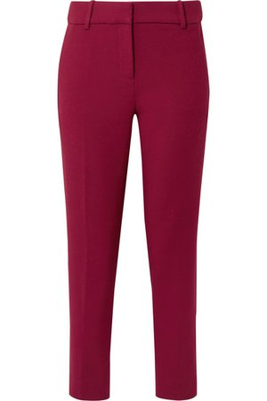 J.Crew   Cameron cropped cady tapered pants   NET-A-PORTER.COM