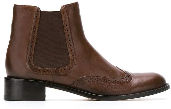 Sarah Chofakian leather boots