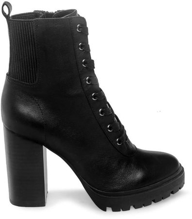 Latch Black Leather