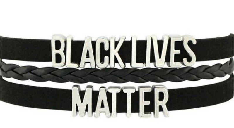 black lives matter blm bracelet