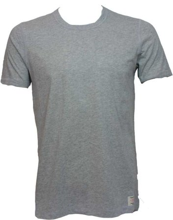 Men's Plain Grey Tee-Shirt