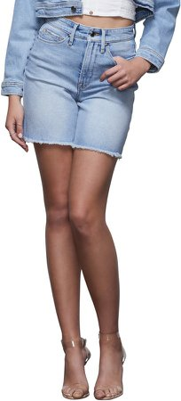 A-Line Denim Shorts