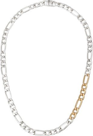 Mixed Chain Collar Necklace