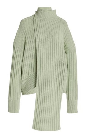 Ribbed-Knit Turtleneck Sweater By Le17 Septembre | Moda Operandi