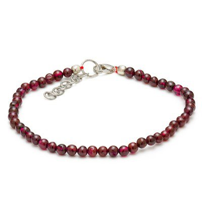 Garnet Gemstone Bracelet | Mystic Self LLC