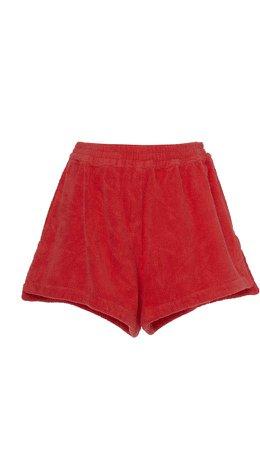 Terry Terry Mini Shorts