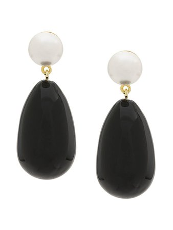Black Eshvi Drop Earrings | Farfetch.com