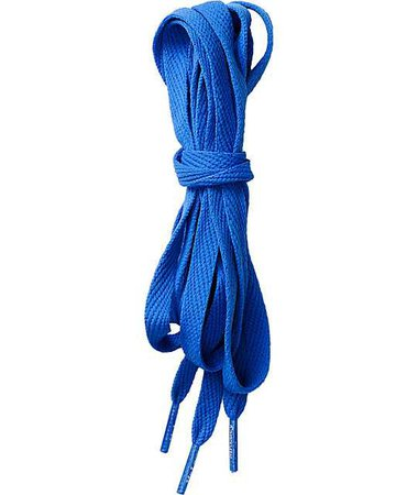 Blue Shoelaces