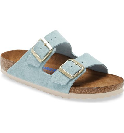 Birkenstock Arizona Soft Slide Sandal (Women) | Nordstrom