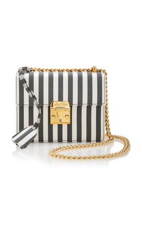 Night Striped Satin Crossbody Bag by Mark Cross | Moda Operandi