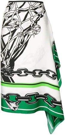 Brognano asymmetric skirt