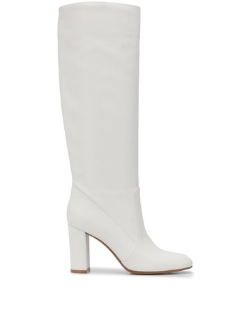 Gianvito Rossi knee-length Leather Boots - Farfetch