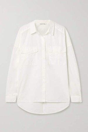 Keeper Cotton-poplin Shirt - White