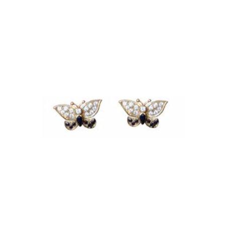 Princess diana butterfly earrings - Google Search