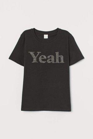 Jersey T-shirt - Black