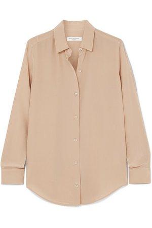 Equipment | Essential silk crepe de chine shirt | NET-A-PORTER.COM