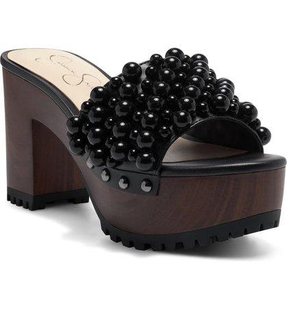 Jessica Simpson Telina Platform Slide Sandal (Women) | Nordstrom