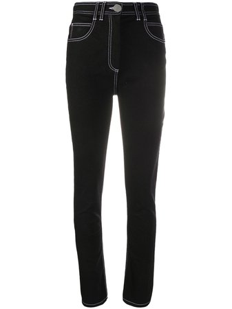Balmain high-waisted Skinny Jeans - Farfetch