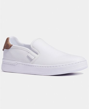 white COACH Walker Slip-On Sneakers & Reviews - Athletic Shoes & Sneakers - Shoes - Macy's