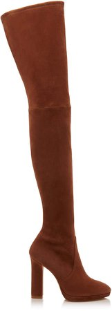 Ledyland Suede Over-The-Knee Boots Size: 5