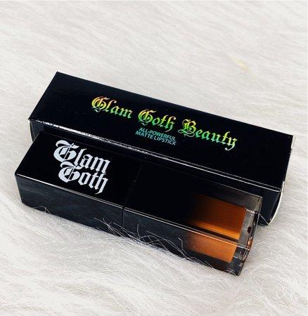 glam goth beauty   lipstick