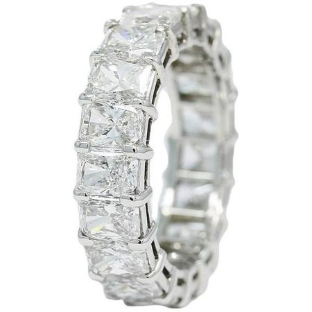 Chopard 7.50 Carats Diamonds Platinum Eternity Band Ring
