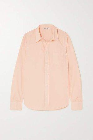 Cotton-poplin Shirt - Blush
