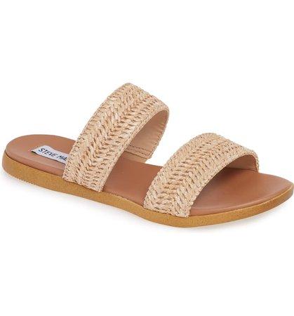 Steve Madden Dual Woven Slide Sandal (Women) | Nordstrom