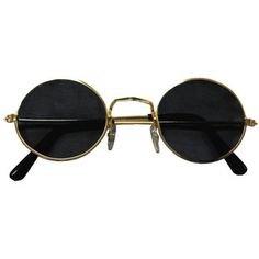 Hippie Sunglasses Blue, Black 1096