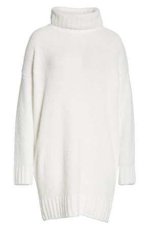 ATM Anthony Thomas Melillo Chenille Turtleneck Sweater Dress | Nordstrom