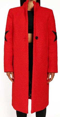 Militant Chic Red coat
