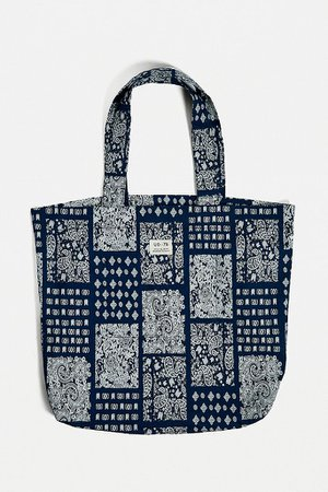 UO Paisley Tote Bag   Urban Outfitters UK