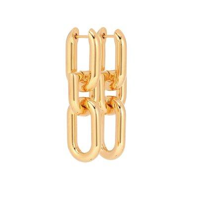 Brass Earrings | Balenciaga - Mytheresa