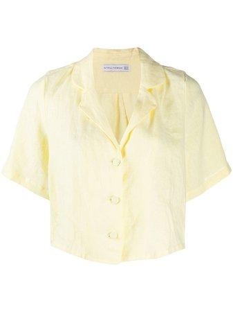 Faithfull The Brand Cropped short-sleeve Shirt - Farfetch