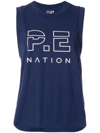 top P.e Nation The Base Load Tank Top Ss20 | Farfetch.com
