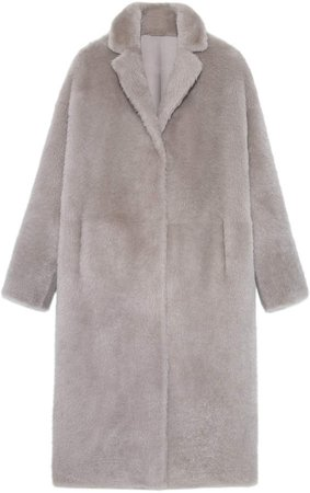 Pologeorgis The Lowell Shearling Coat