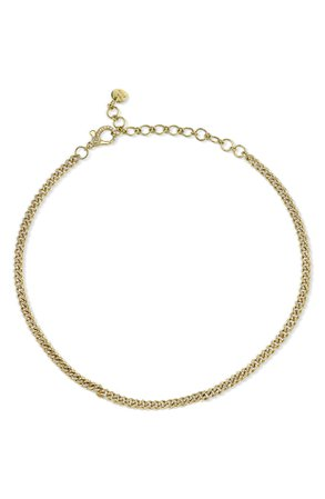 SHAY Baby Link Diamond Pavé Chain Choker | Nordstrom
